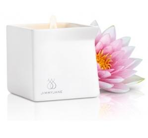 Bougie de massage Lotus rose